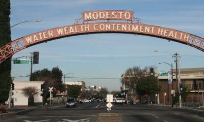 Arch in Modesto, CA